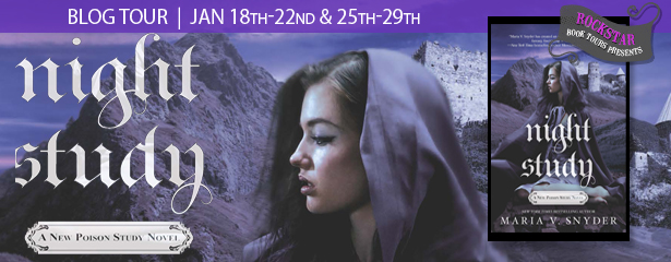 Tour Stop + Giveaway: Night Study by Maria V Snyder