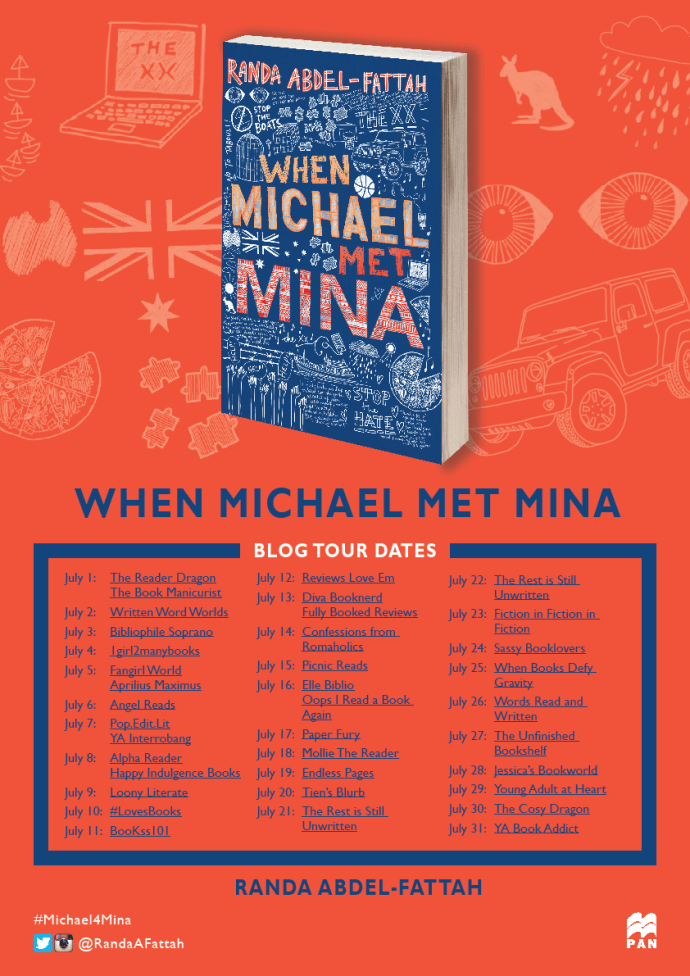 michael and mina poster