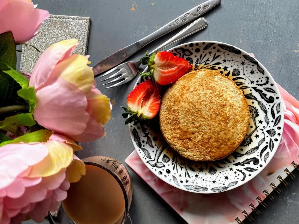 Simple Low Sugar Oat Pancakes Recipe for One