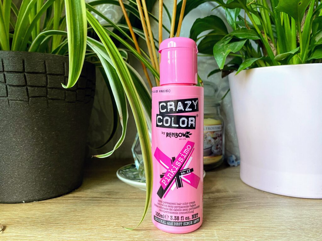 Dying My Hair Hot Pink with Crazy Color Pinkissimo