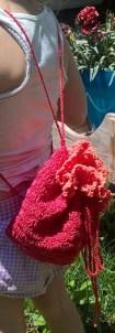 Red fiesta bag.