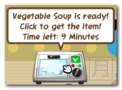 Pet Society Cooking