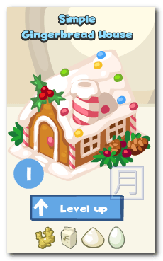 Restaurant City Gingerbread