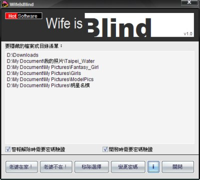 Wife is Blind