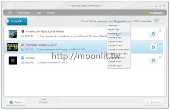 網路影片下載器 Free Video Downloader