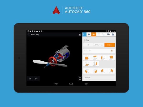 AutoCAD手機版免費下載 手機就能開啟圖面