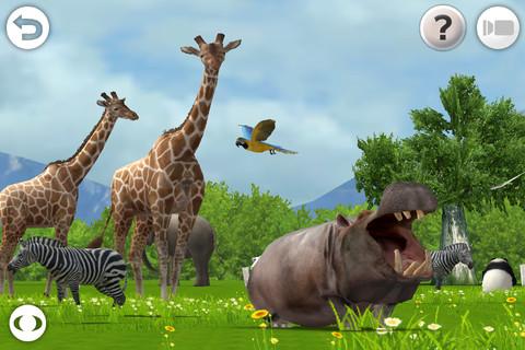 [限時免費]iPad幼教軟體 動物圖鑑 REAL ANIMALS HD (Full)