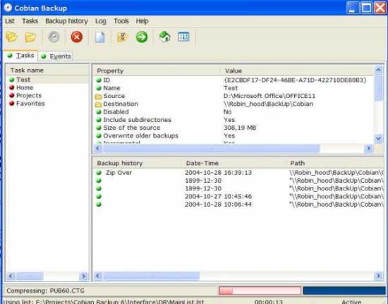 電腦備份軟體 Cobian Backup 11