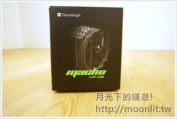 cpu散熱器推薦 Thermalright HR-02 Macho 便宜不失效能的塔型散熱器