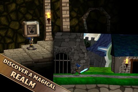 [iPad/iPhone]Swordigo 與薩爾達傳說類似的 ARPG 遊戲