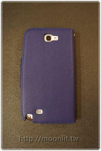 [開箱] Samsung Galaxy Note 2 書頁式皮套