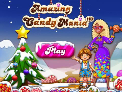 山寨版 Candy Crush -「Amazing Candy Mania HD」相似度百分之九十