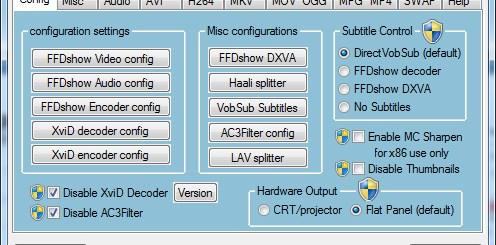 windows 8 codecs pack 影音編碼器播放軟體
