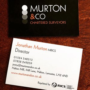 Murton & Co - business cards