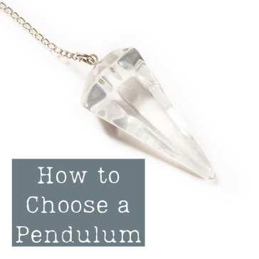 how to choose a pendulum quartz pendulum