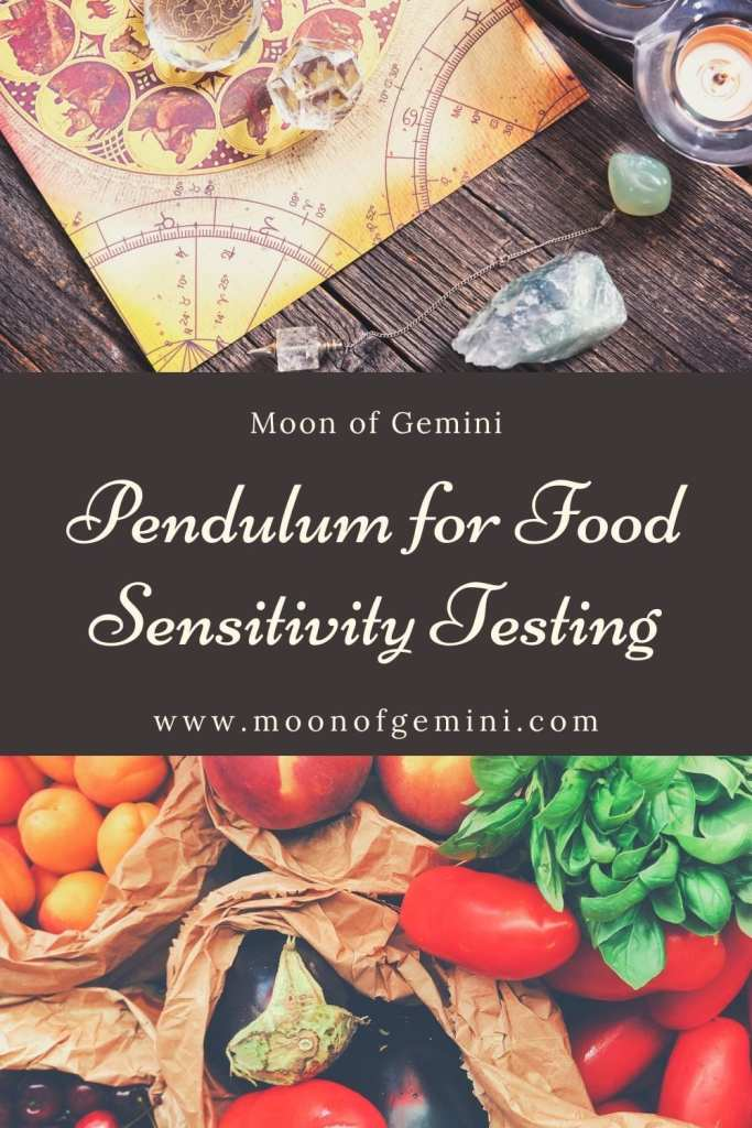 How to use a pendulum for testing food sensitivities.