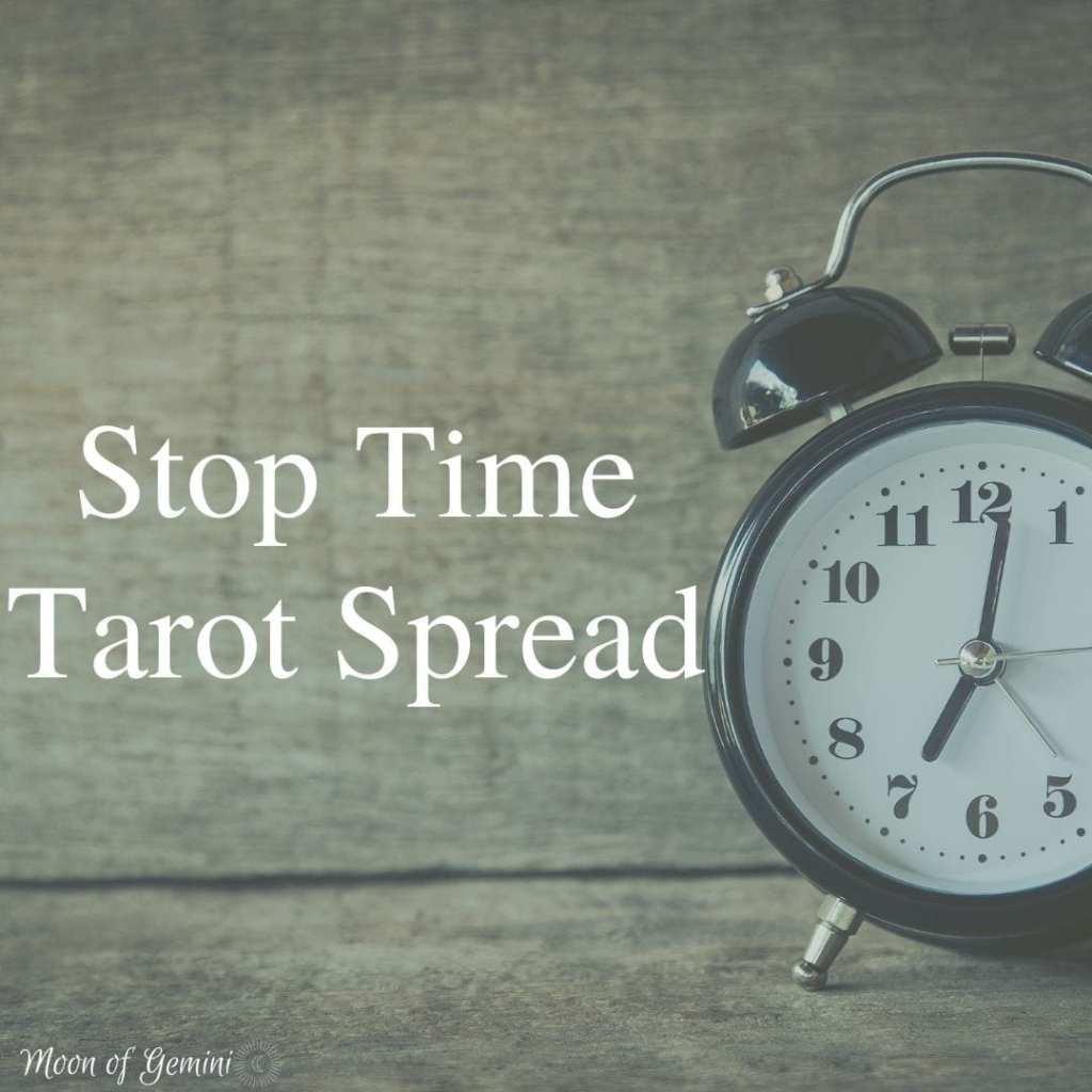 stop time tarot spread