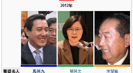 總統大選2012日期 投票日