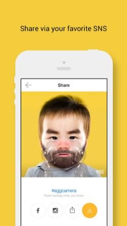 搞笑攝影app egg 艾革 - 讓你1秒變身的相機
