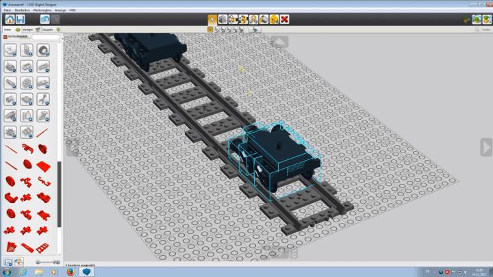 LEGO Digital Designer 樂高電腦遊戲 用電腦拼樂高
