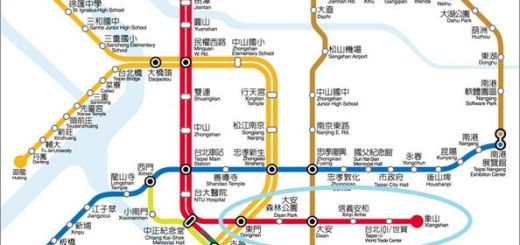 捷運信義路線圖2013