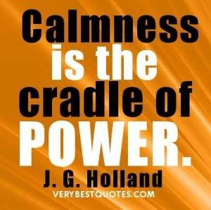 Calmness: Wandering Thought #161