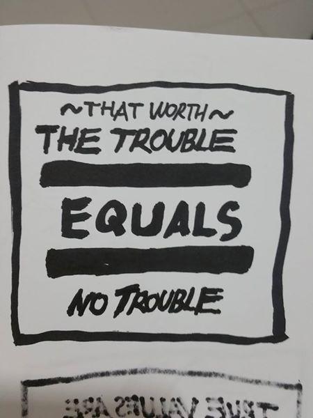 Trouble: PictureQuotes #11