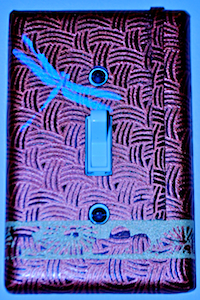 Silkscreened Dragonfly Switchplate