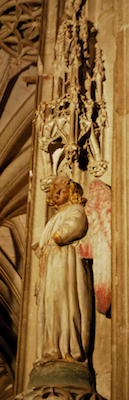 Angel in St. Cecile's