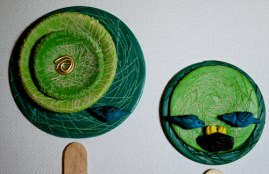 Spring and Summer Tree Disks