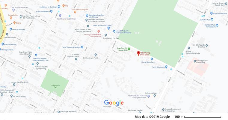 Moonshadows Location Map