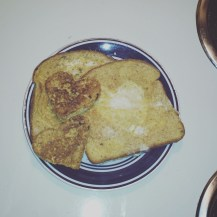 Valentine's Day French Toast