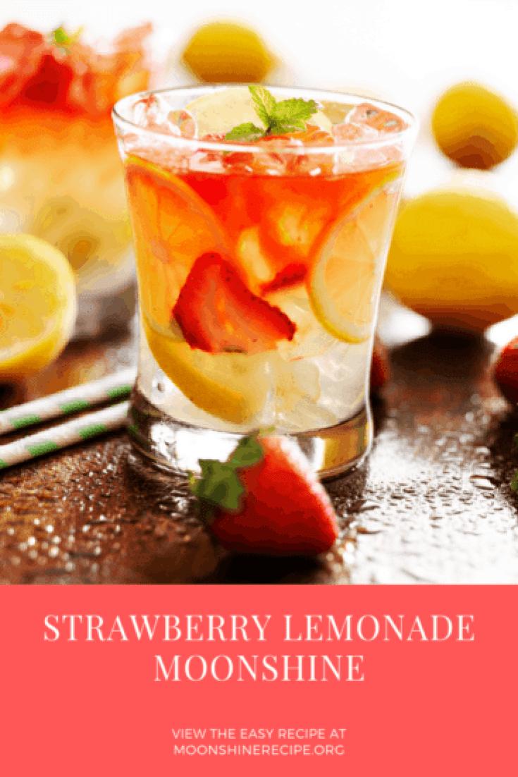 Strawberry Lemonade Moonshine 2