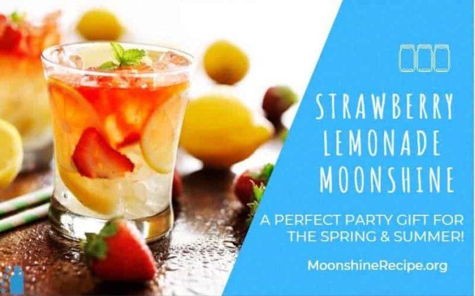 Strawberry Lemonade Moonshine Recipe