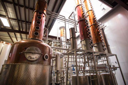 Distillery Columns