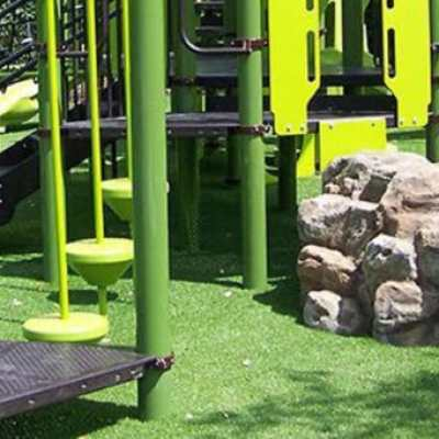 Synthetic Grass on playground