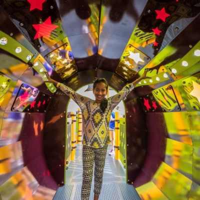 playground sensory tunnel