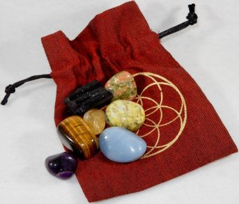 Chakra Healing Kit - Moon Soul Magic - Red