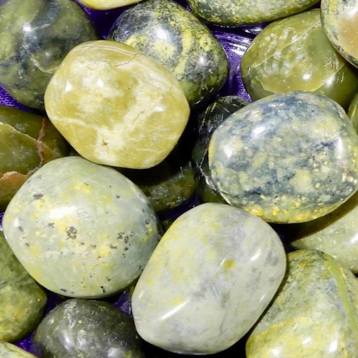 Serpentine Healing Stones