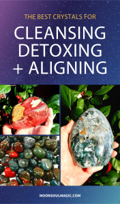 The best crystals for cleansing, detoxing and aligning