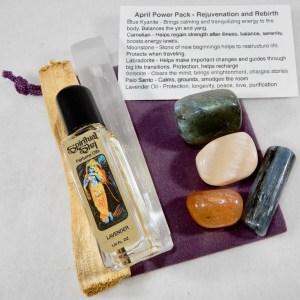 April Power Pack for Rejuvenation + Rebirth