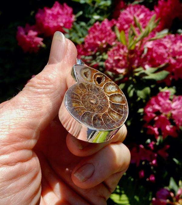 Ammonite LG Pendant3