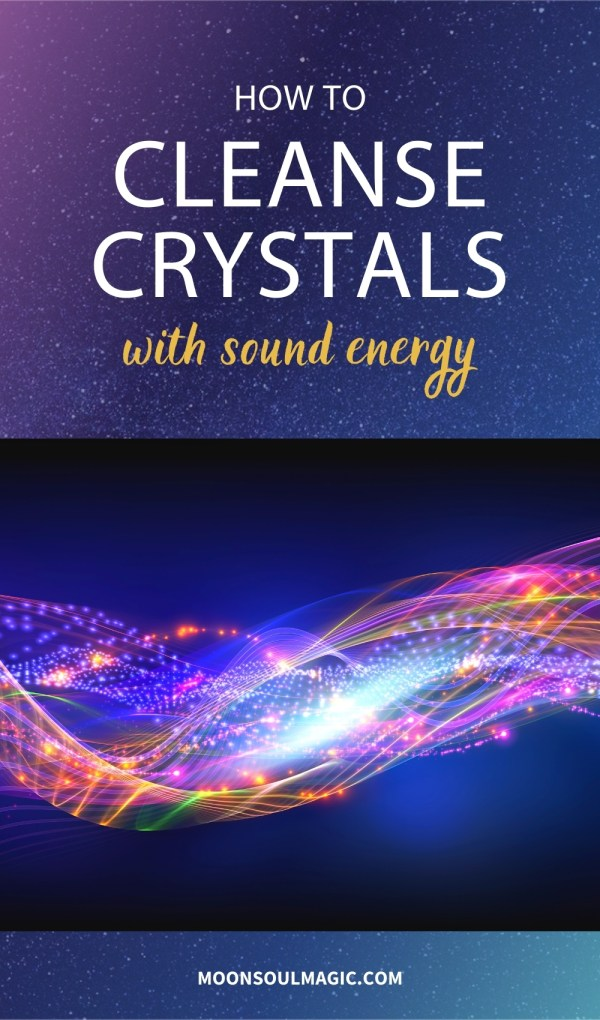 How to Cleanse Crystals with Sound Energy