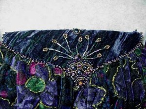 Lillian - Upper back bead embroidery