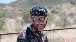 Alex Harris, current leader of Race Across South Africa, pictured seven days into the gruelling 2 150km challenge from Pietermaritzburg to Wellington. Photo: Andrew Muckart