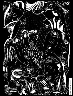 ESCAPISM (black)