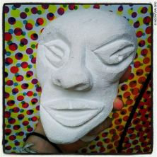 My first limestone sculpture