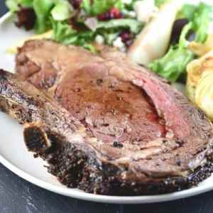 "Fresh Roast Prime Ribs of Beef ""au jus"""