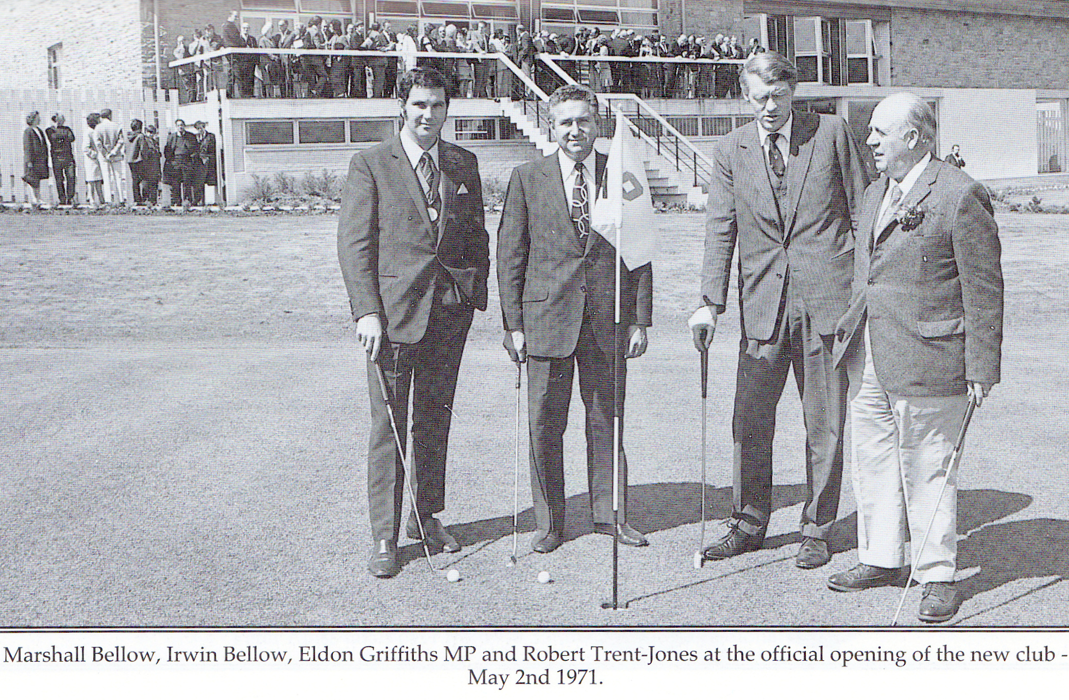 Moor Allerton Golf Club - Official Opening 2nd May 1971