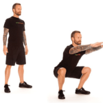 6 Simple Stretches Before You Play Golf - Standing Squat